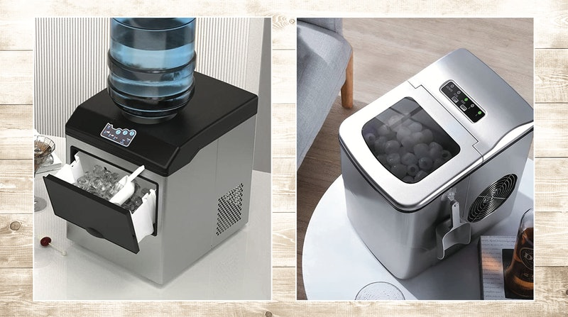 Image of two portable ice makers