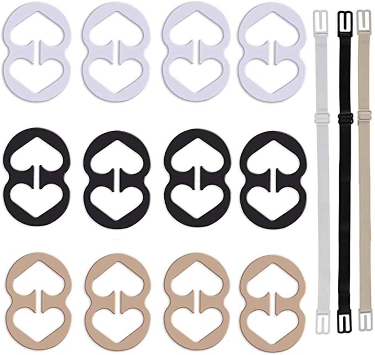 W-Plus Bra Strap Clips (12-Pack)