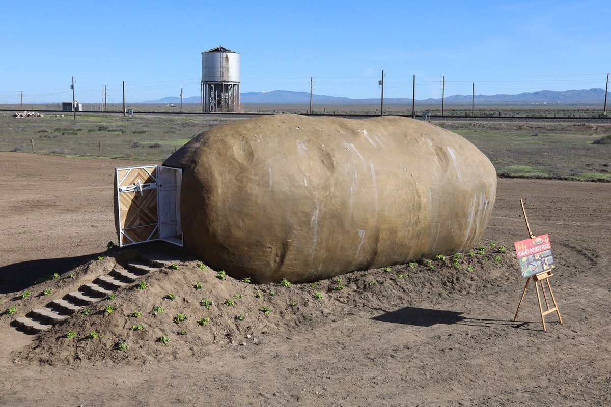 The Big Idaho Potato Hotel is a giant potato-inspired hotel that Airbnb guests can stay at.