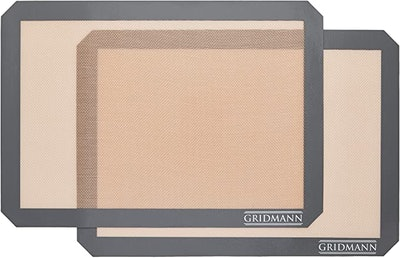 GRIDMANN Pro Silicone Baking Mats (2-Pack)