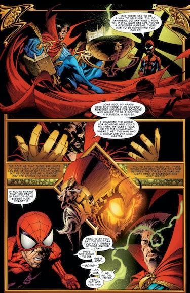 One More Day (2007), by J. Michael Staczynski and Joe Quesada - Marvel Comics