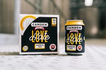 Camden Town Brewery's Marmite beer