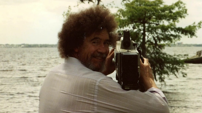 Bob Ross is the subject of Netflix's new documentary.