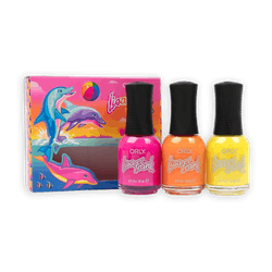 Orly x Lisa Frank Nail Lacquer Trio