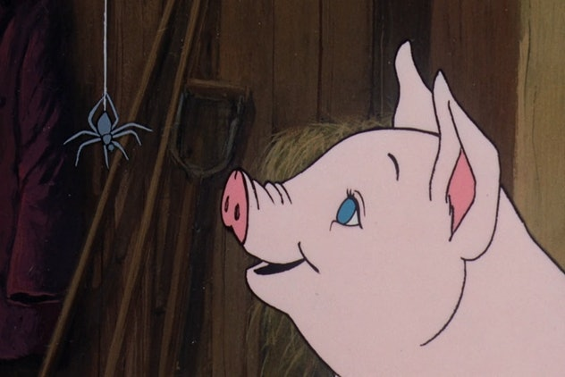 Charlotte's Web is based on the children's book by E.B. White