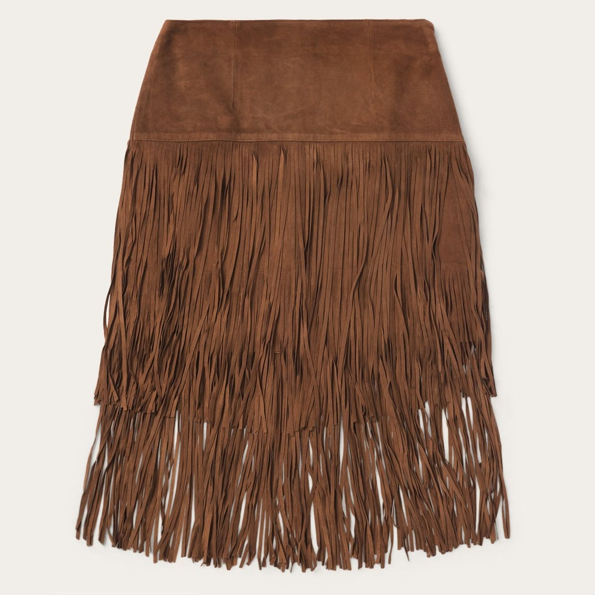 Stetson Suede Fringed Skirt