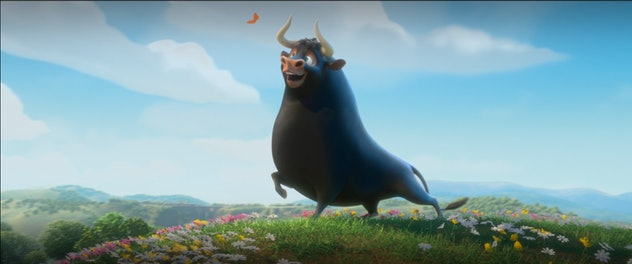 Ferdinand is based on the children's book from 1936