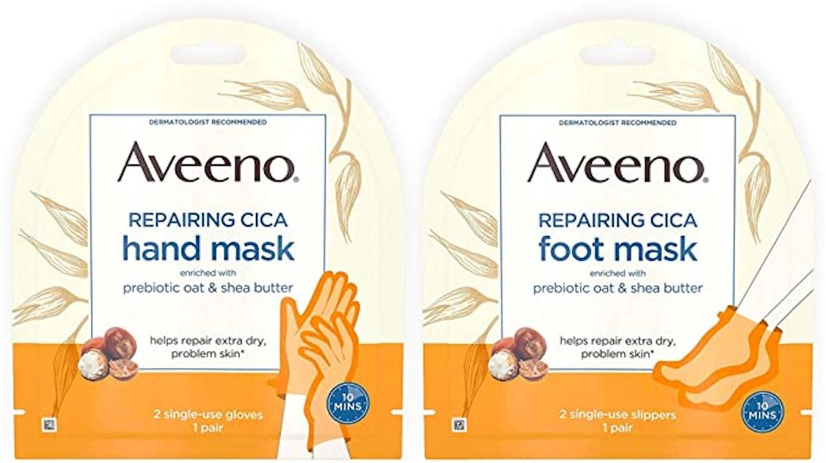 Aveeno Repairing CICA Foot Mask & Hand Mask