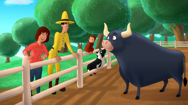 Go West Go Wild is a movie in the Curious George TV and film franchise