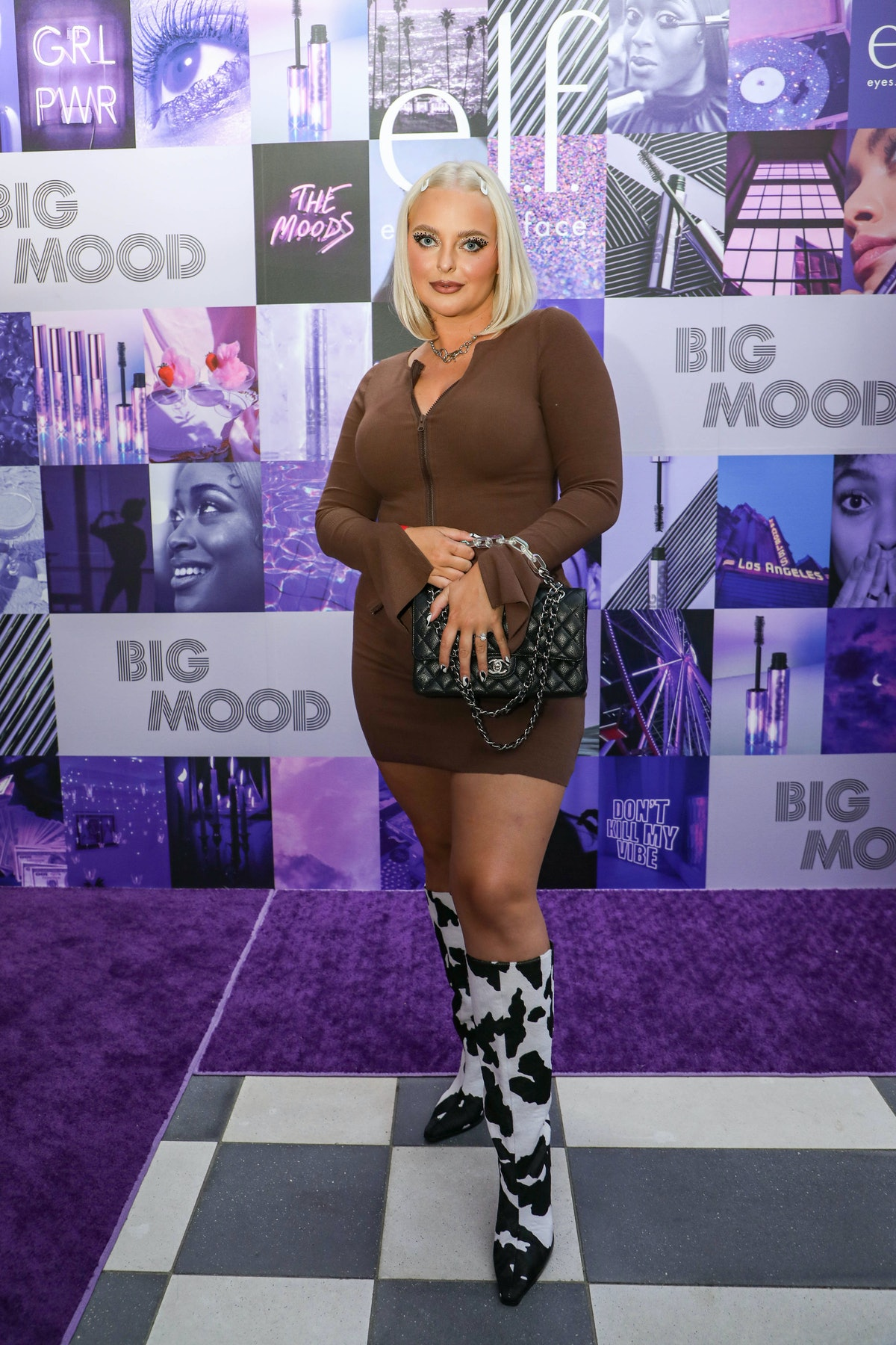 Makeup artist, brand owner, and beauty influencer Megs Cahill attends a launch event for e.l.f.'s Bi...
