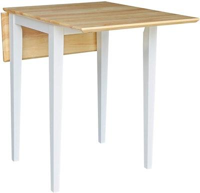 International Concepts Drop Leaf Table