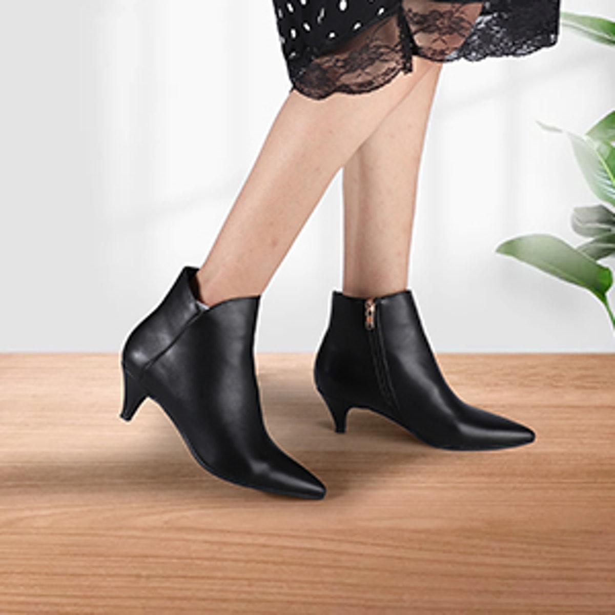 IDIFU Kiki Ankle Booties