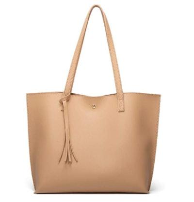 Dreuba Faux Leather Shoulder Bag