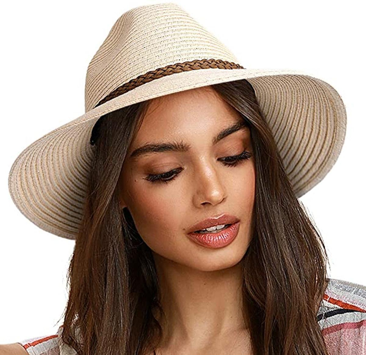 FURTALK Wide Brim Sun Hat UPF 50+