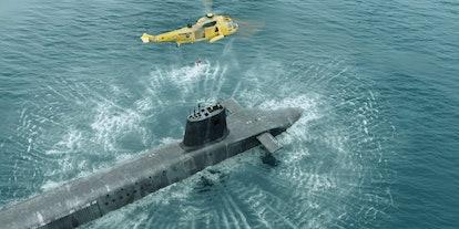 HMS Vigil in BBC's 'Vigil'