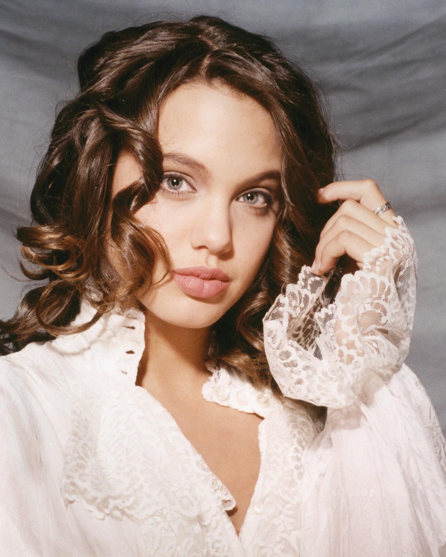 Angelina Jolie at 16