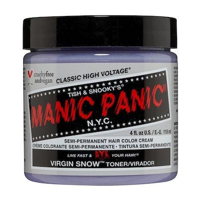 Manic Panic Virgin Snow Semi Permanent Cream Hair Color