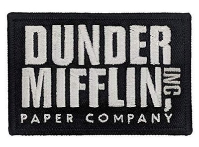 This Dunder Mifflin iron-on patch is perfect to create a Darryl Halloween costume.