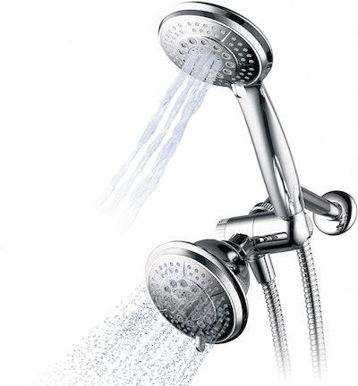 Hydroluxe Handheld Shower Head And Rain Shower Combo