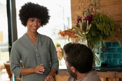 Tiffany Boone plays Delilah on 'Nine Perfect Strangers.'