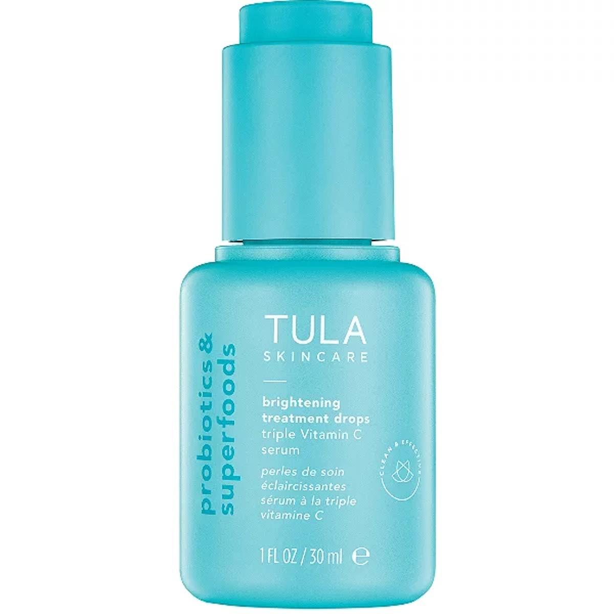 Tula Brightening Treatment Drops Triple Vitamin C Serum
