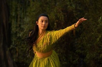 Fala Chen as Ying Li in Shang-Chi and the Legend of the Ten Rings