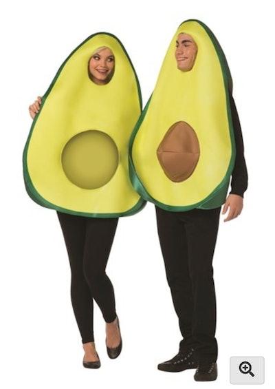 couples avocado costumes