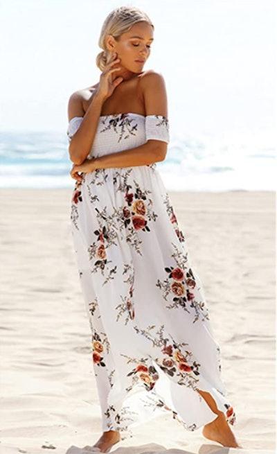 AM CLOTHES Maxi Dress