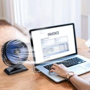 Gaiatop USB Desk Fan