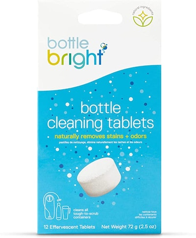 Bottle Bright Water Bottle Cleaning Tablets (12 Count)