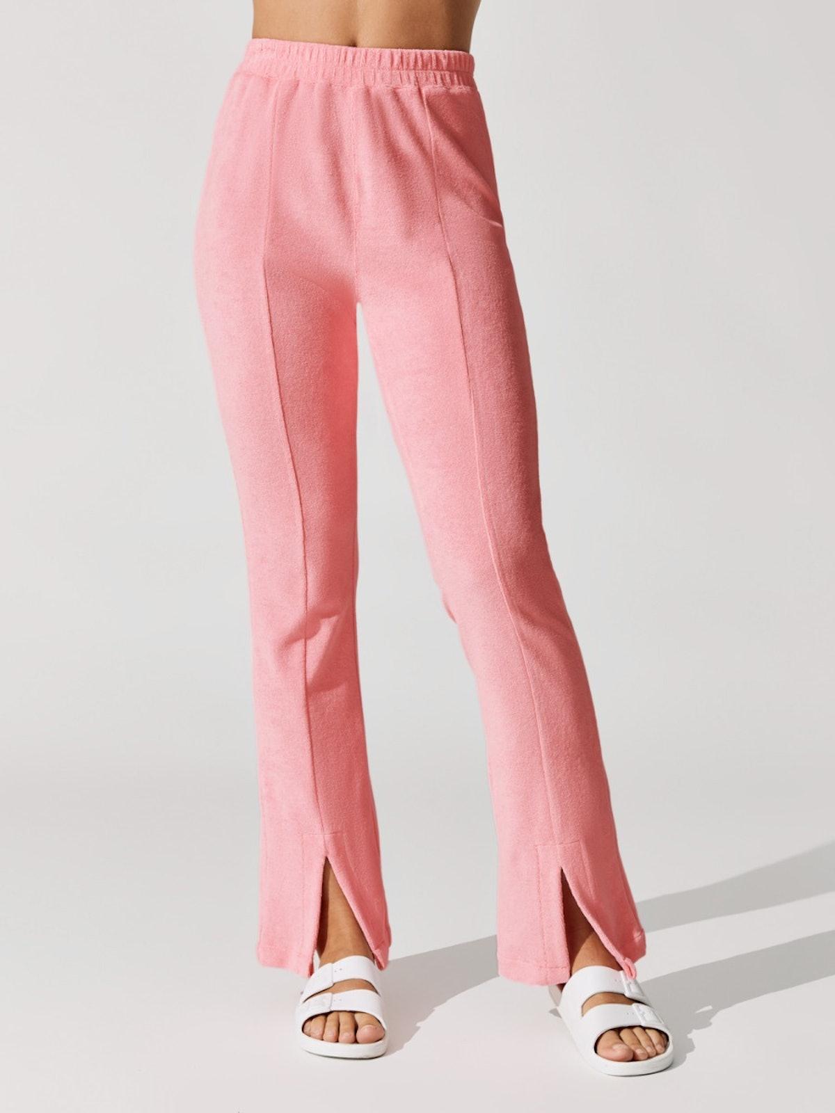 Snap Slit Front Pants