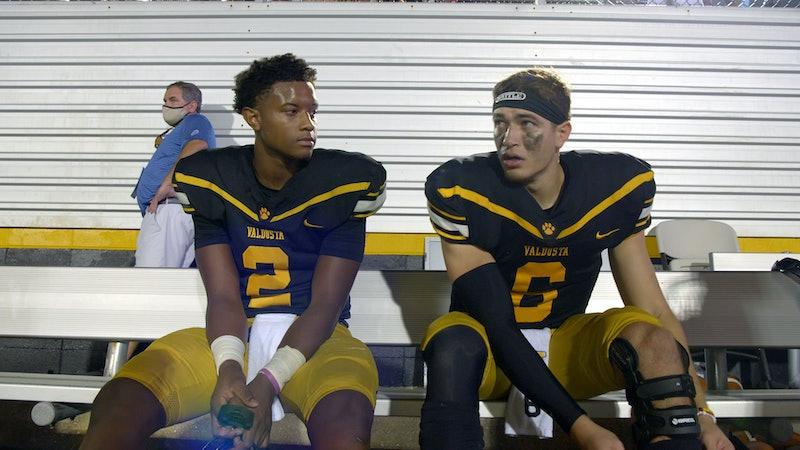 Amari Jones is Titletown High's quarterback. Photo courtesy of Netflix