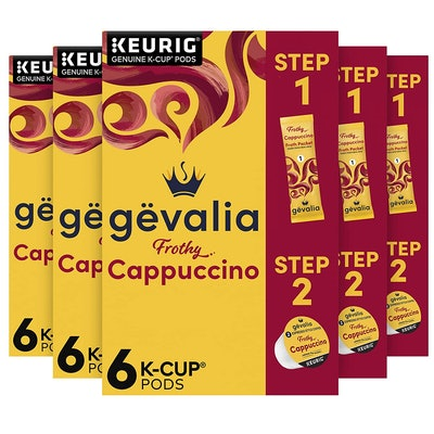 Gevalia Frothy Cappuccino (36 Pods)