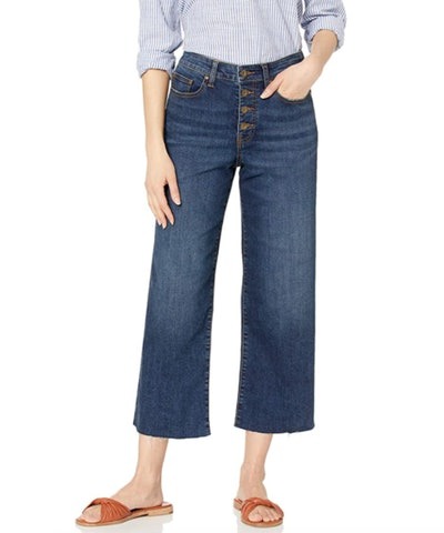 Daily Ritual Relaxed Fit Wide-Leg Crop Jean
