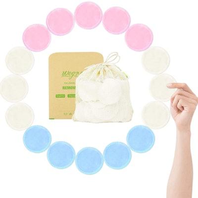 wegreeco Reusable Cotton Rounds (16-Pack)