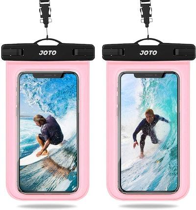 JOTO Universal Waterproof Phone Pouches (2-Pack)