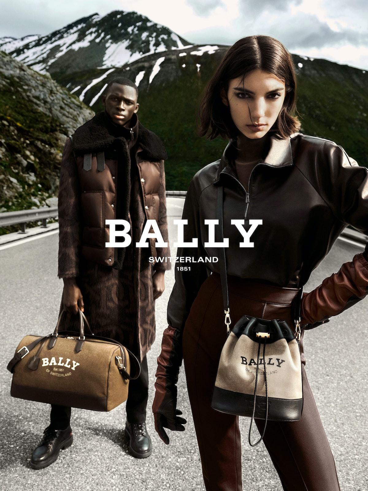 Bally Fall/Winter 2021 campaign.