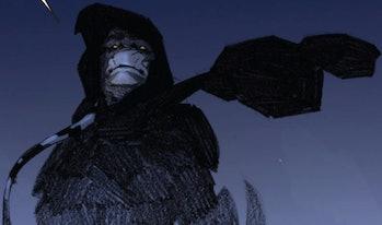 Gorr makes for an imposing figure in Thor: God of Thunder Vol. 1 #9