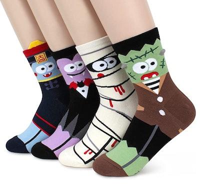 Funny Monster Character Socks