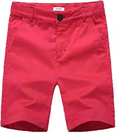 Flat Front Boy Shorts