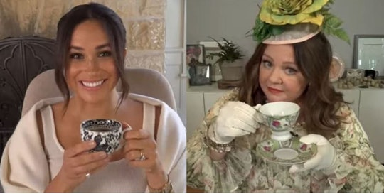 Duchess of Sussex and Melissa McCarthy Kick Off Their 40x40 campaign.