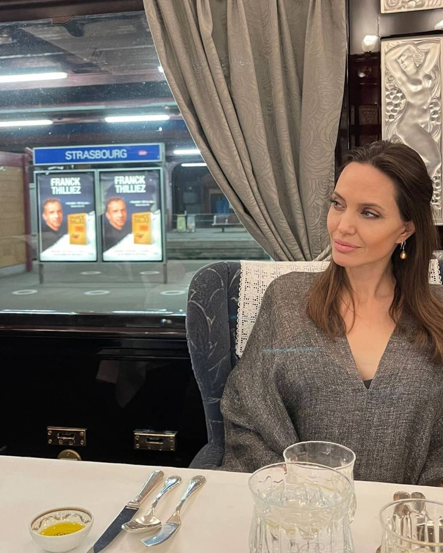 Angelina Jolie on vacation