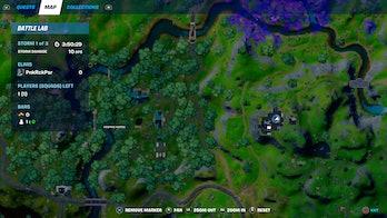 fortnite week 9 alien artifact location 2 map