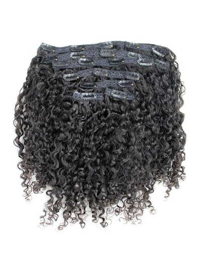 curly clip in bangs