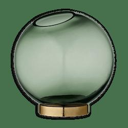 AYTM Forest Globe Vase With Brass Stand