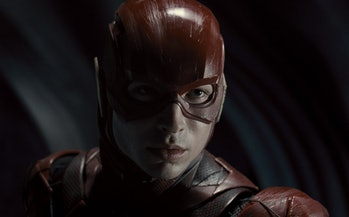 Ezra Miller as Barry Allen/The Flash in Zack Snyder's Justice League