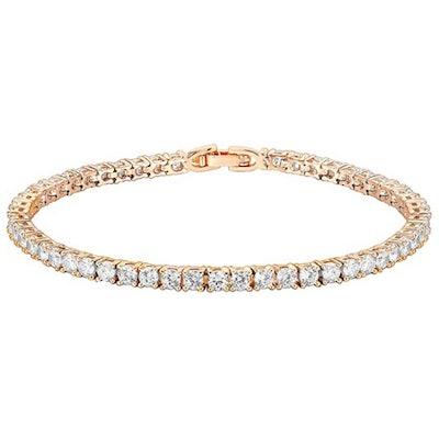 PAVOI 14K Gold Plated Cubic Zirconia Tennis Bracelet