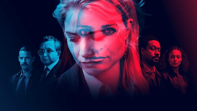 Pedder (Harry Treadaway) , Britton (Eddie Marsan) , Sadie/LizzieDeceit cast: (Niamh Algar), Baz (Nat...