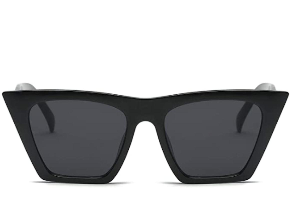 FEISEDY Square Cat Eye Sunglasses