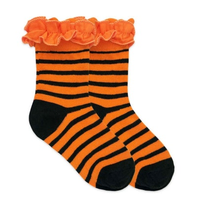 Girl's Ruffle Halloween Socks